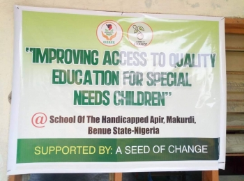 IMPROVING ACCESS TO QUALITY EDUCATION FOR CHILDREN WITH SPECIAL NEEDS