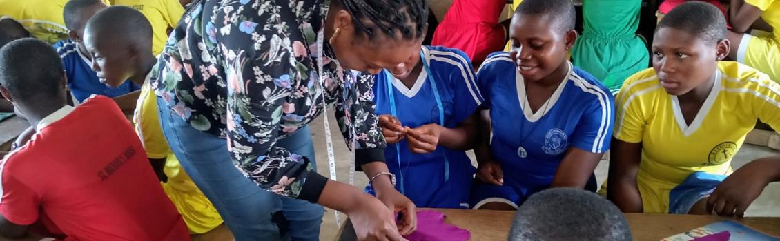 Promoting Proper Menstrual Hygiene Management Among Adolescent School Girls of St. Mark Secondary school, Apir- Benue State.