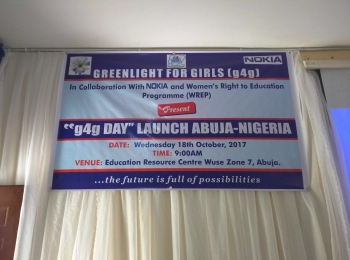g4g 'Day Launch' — Abuja in partnership with greenlight for girls (g4g)